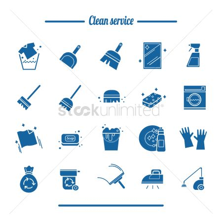 Washing machine : Set of clean service tools