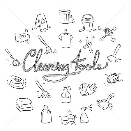Clean : Set of cleaning icons