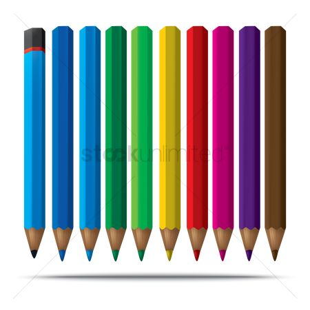 Supply : Set of color pencils