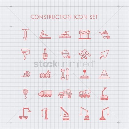 Jack : Set of construction icons