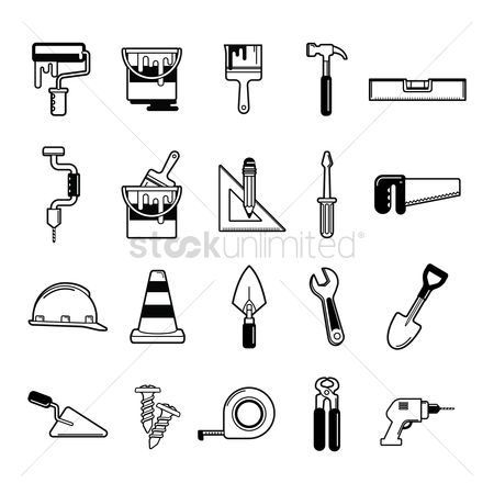 Screwdrivers : Set of construction tools