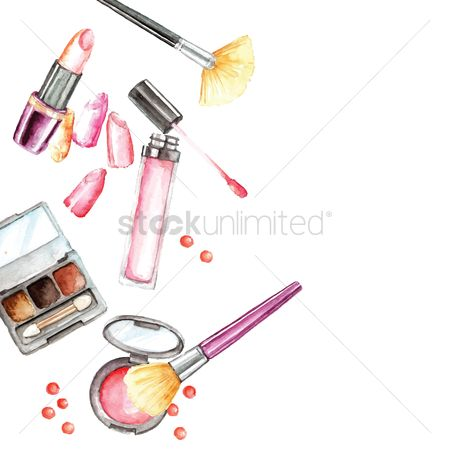 Palette : Set of cosmetics