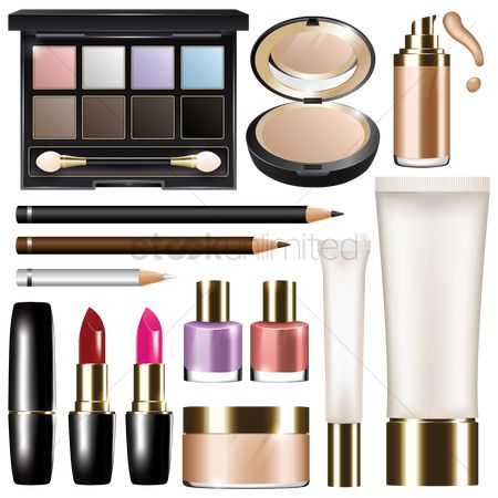 Lifestyle : Set of cosmetics