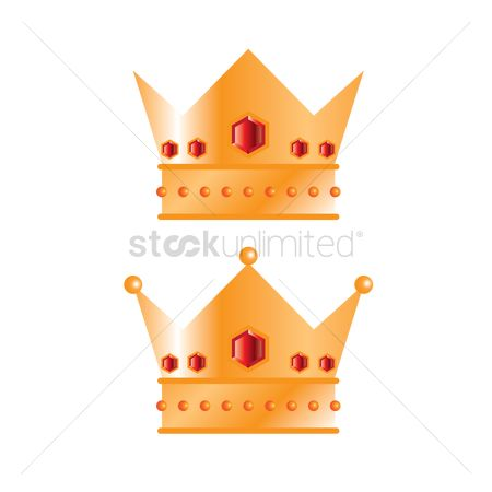 Royal : Set of crowns