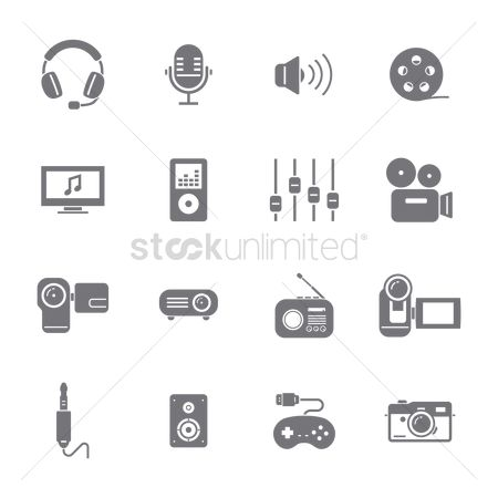 Connector : Set of device icons
