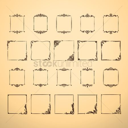 Classic : Set of frames