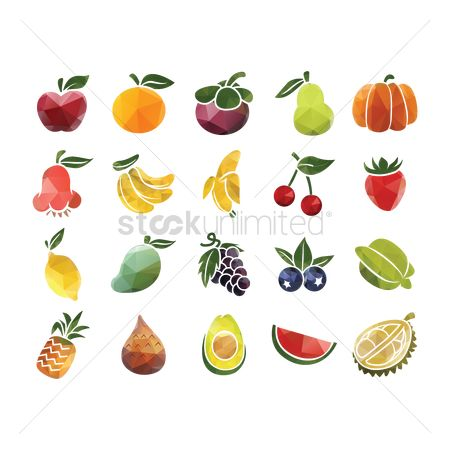 Fruit : Set of fruits