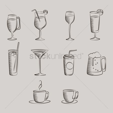 Beer mug : Set of glasses