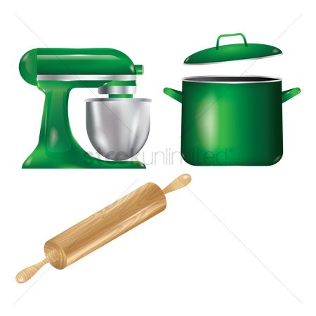 Roller : Set of kitchenware