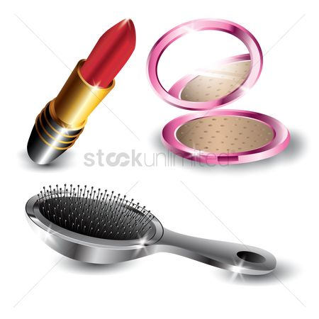 Cosmetic : Set of makeup icons