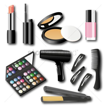 Cosmetic : Set of makeup