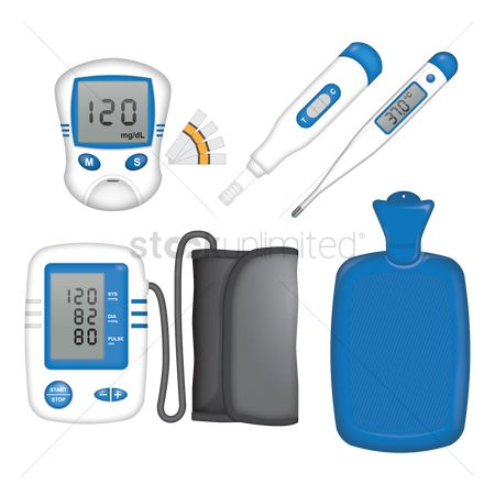 Medical : Set of medical equipment