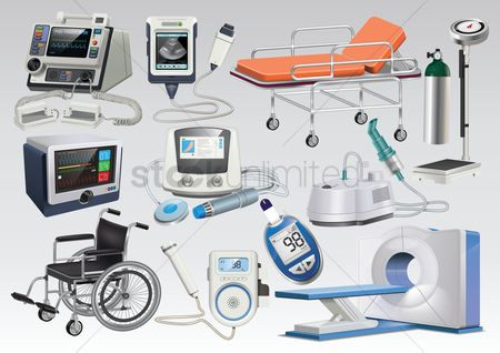 Hospital : Set of medical icons