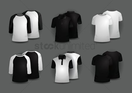Trendy : Set of men s t-shirts