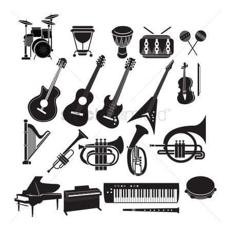 Musicals : Set of musical instruments