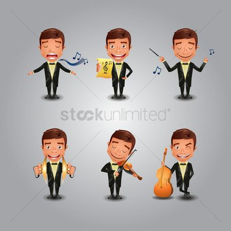 Ties : Set of musicians