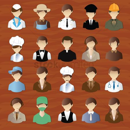 Workers : Set of profession people
