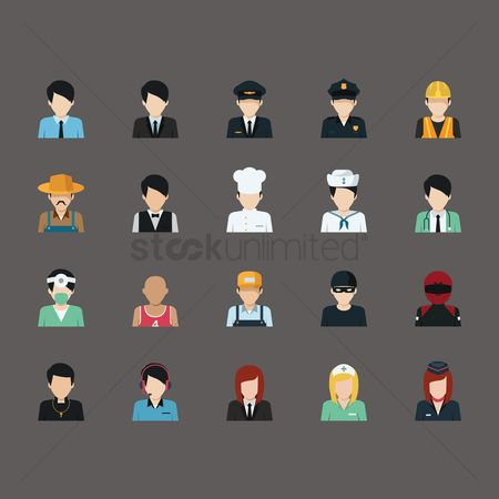 Builder : Set of profession people