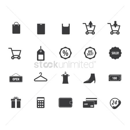 Increase : Set of shopping