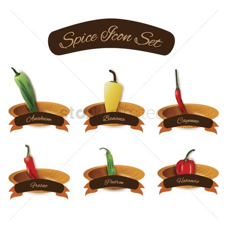 Free Cayenne Pepper Stock Vectors | StockUnlimited