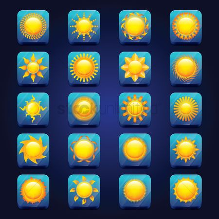 Sunray : Set of suns