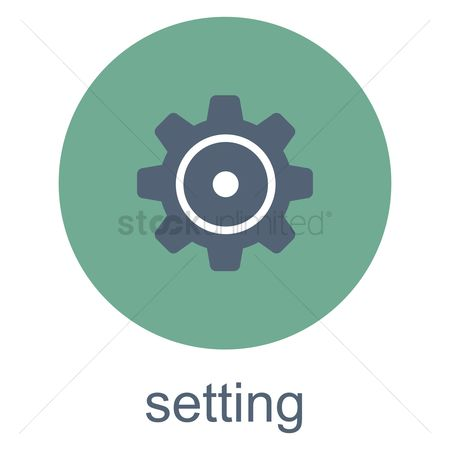 App : Setting button