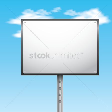signage template