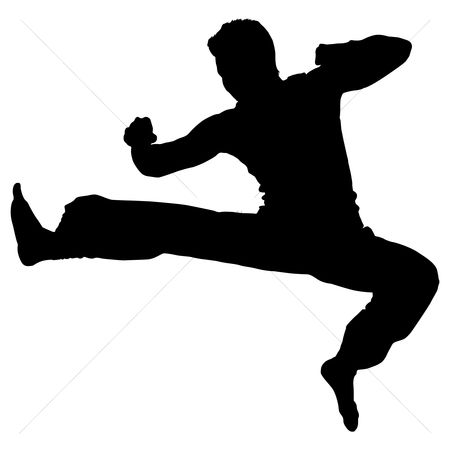 Karate Illustrations and Clipart 8944 Karate royalty