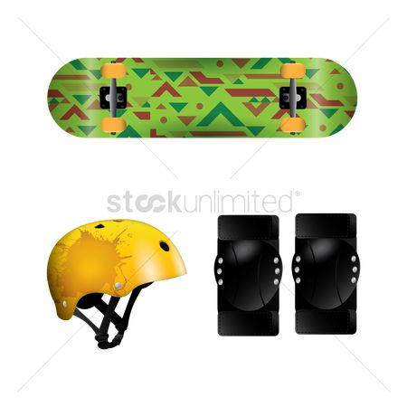 Skateboard : Skating gear