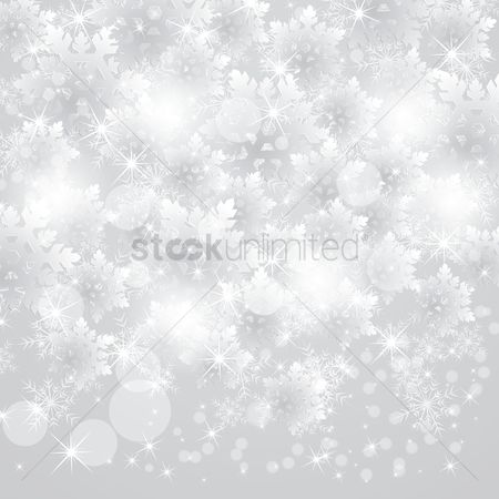 Illumination : Snowing snowflakes design