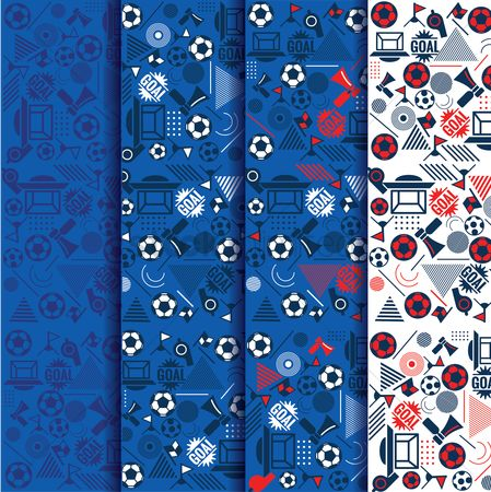 Footballs : Soccer sport banner collection