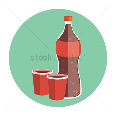Soda drink : Soda and cups