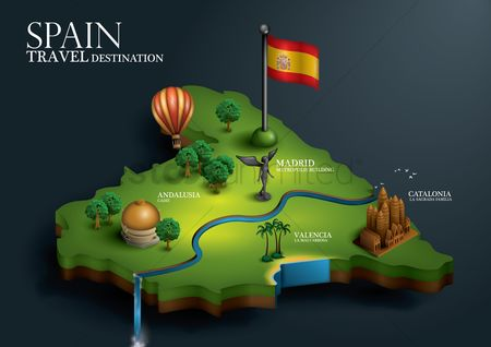 Borders : Spain travel destination