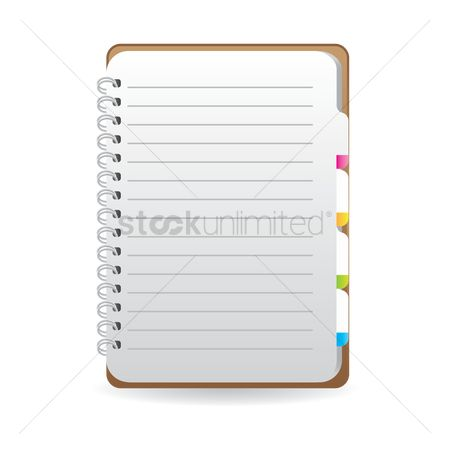 Open : Spiral notebook