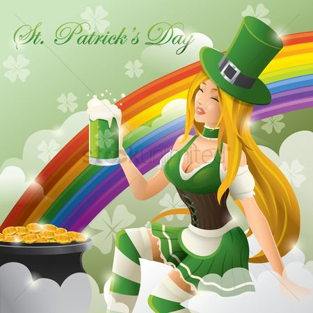 Beer mug : St  patrick s day wallpaper