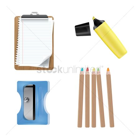 Highlighters : Stationery set