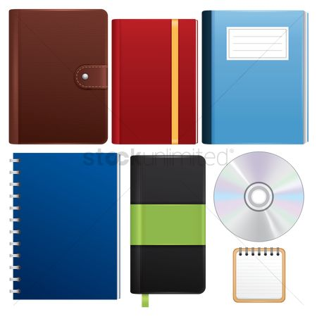 Notebooks : Stationery supplies set
