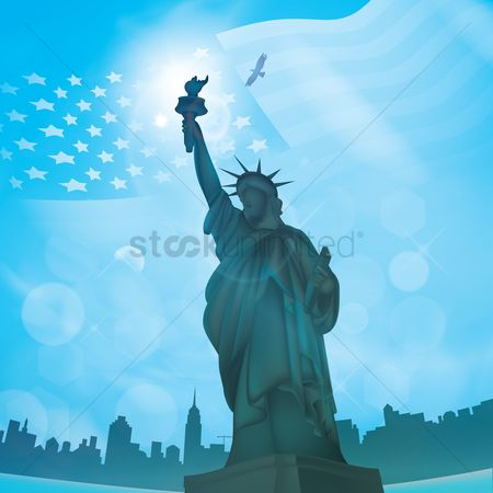 Torch : Statue of liberty