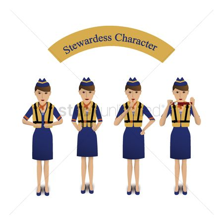 Staffs : Stewardess