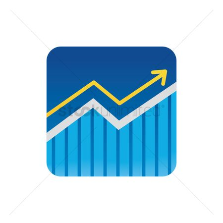 Market : Stock market icon