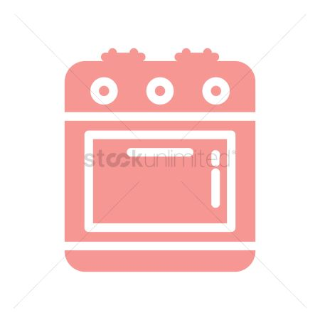 Gases : Stove oven