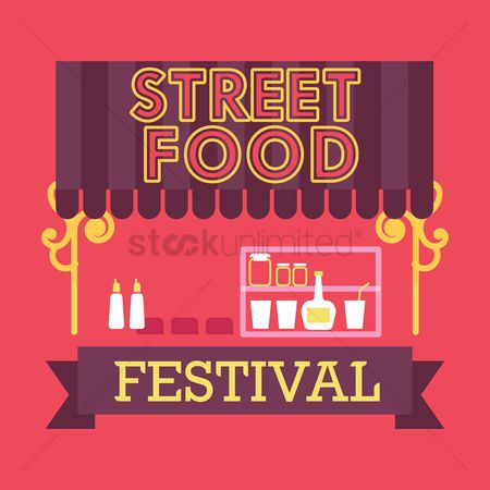 Food cart : Street food festival design