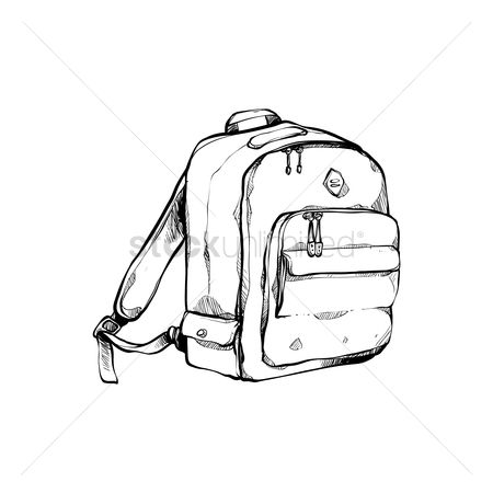 School bag : Student backpack
