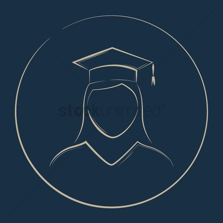 Achievements : Student with mortarboard