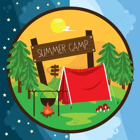 Tents : Summer camp