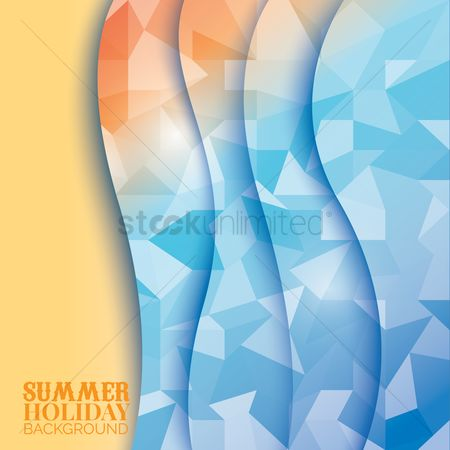 Summer : Summer holiday background