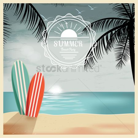 Recreation : Summer holiday concept