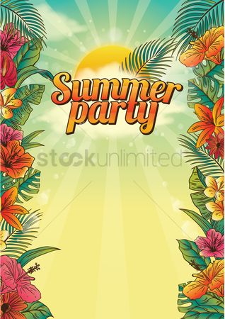 Vacation : Summer party