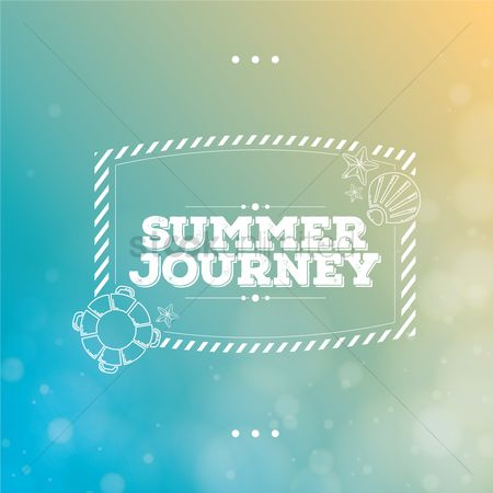 Typographics : Summer typography