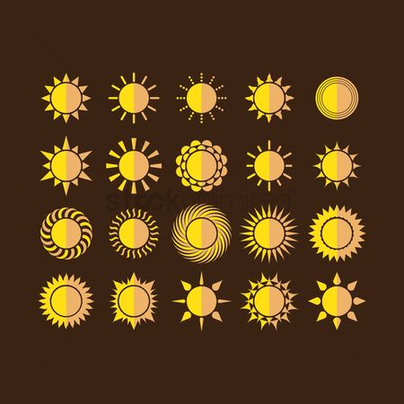 Signs : Sun icons